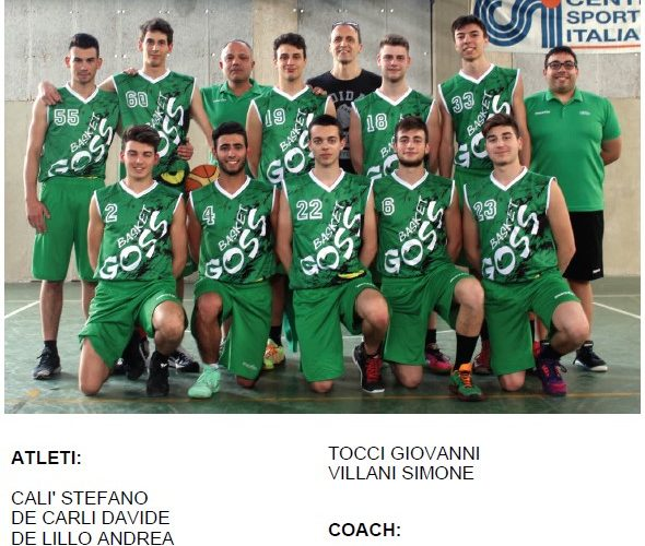 Squadra U19 2016/2017
